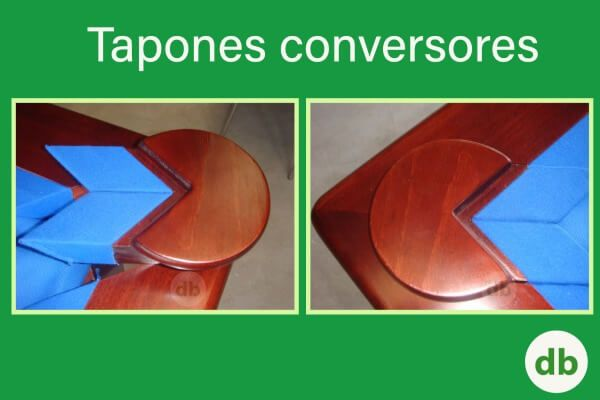 Billar convertible - Tapones conversores | Don Billar